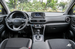 2018 Hyundai Kona Interior and Cargo Space