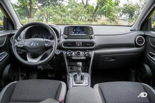 2018 Hyundai Kona Interior and Cargo Space