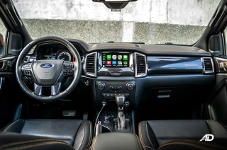 2019 Ford Ranger Wildtrak Biturbo Interior and Cargo Space