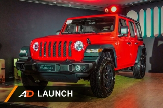 2019 Jeep Wrangler JL - Launch