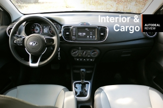 2019 Kia Soluto Interior & Cargo Space Review