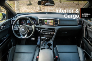 2019 Kia Sportage Interior & Cargo Space