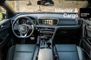 2019 Kia Sportage Interior & Cargo Space
