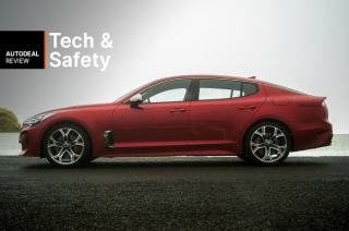 2019 Kia Stinger Technology & Safety
