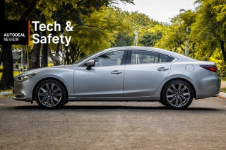 2019 Mazda6 Sedan Diesel Technology & Safety