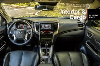 2019 Mitsubishi Strada Interior & Cargo