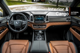 2019 SsangYong Rexton Interior & Cargo Space Review