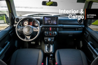 2019 Suzuki Jimny Interior & Cargo Space