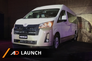 2019 Toyota Hiace - Launch