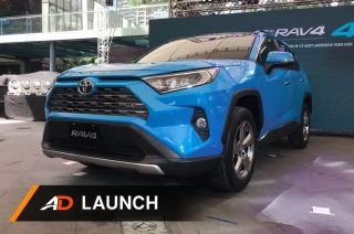 2019 Toyota Rav4 - Launch