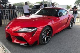 2019 Toyota Supra revealed at Clark