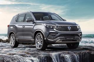 2020.5 SsangYong Rexton facelift update