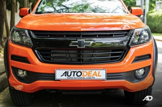 2020 Chevrolet Colorado exterior front Philippines