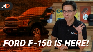 2020 Ford F-150 Launches in the Philippines – Behind a Desk