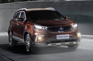 2020 Ford Territory exterior quarter front
