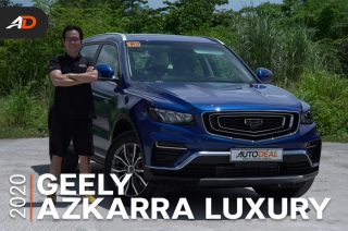2020 Geely Azkarra Luxury Review - Behind the Wheel