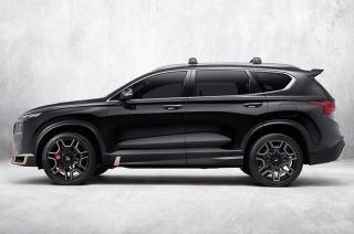 2020 Hyundai Santa Fe N-performance package exterior side