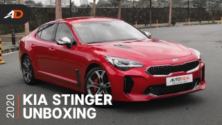 2020 Kia Stinger 3.3 V6 GT - AutoDeal Unboxing