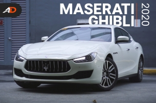 2020 Maserati Ghibli - AutoDeal Unboxing