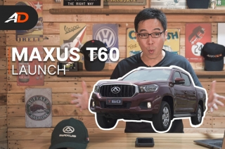 2020 Maxus T60 Launch - Behind a Desk