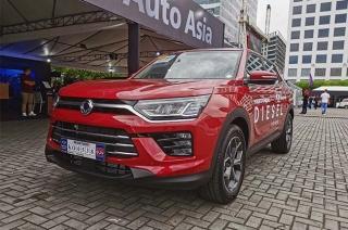 2020 Ssangyong Korando test drive