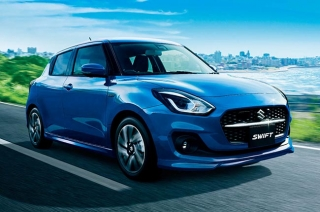 2020 Suzuki Swift facelift