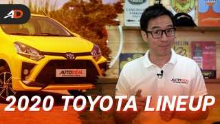 2020 Toyota Cars in the Philippines