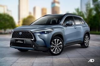 2020 Toyota Corolla Cross exterior quarter front Philippines
