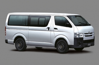 2020 Toyota Hiace Cargo exterior side Philippines