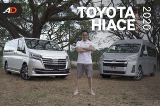 2020 Toyota Hiace Super Grandia Elite and GL Grandia Tourer Review