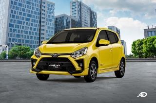 2020 Toyota Wigo Yellow TRD-S