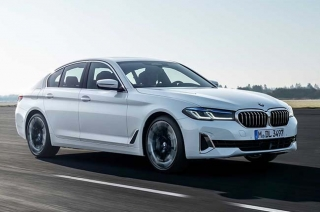 2021 BMW 5 Series white