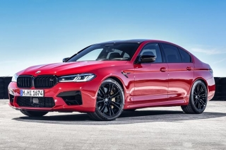 2021 BMW M5 Red