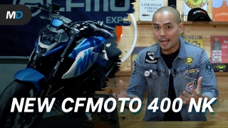 2021 CFMoto 400 NK Launches in the Philippines - Behind a Desk