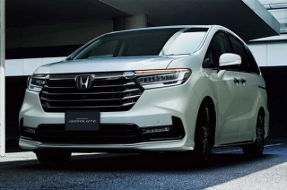 2021 facelifted Honda Odyssey JDM launched