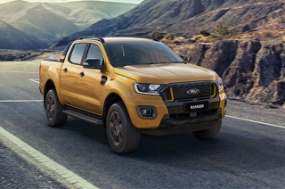 2021 Ford Ranger facelift