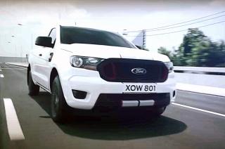 2021 Ford Ranger facelift thailand
