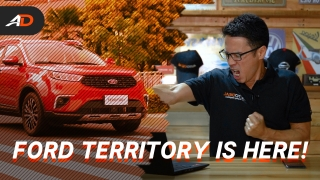 2021 Ford Territory Launches in the Philippines - Behind a Desk