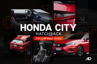 2021 Honda City hatchback RS
