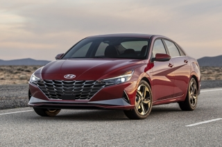 2021 Hyundai Elantra red