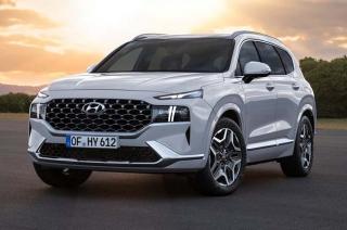 2021 Hyundai Santa Fe white