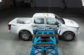 2021 Isuzu D-Max ANCAP crash test