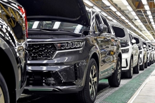 2021 Kia Sorento exterior production plant