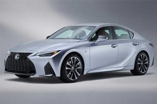 2021 Lexus IS refresh