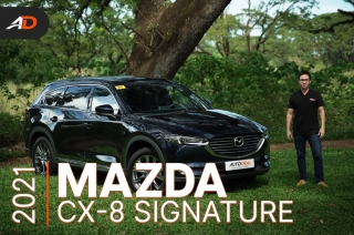 2021 Mazda CX-8 Signature Review - Behind the Wheel
