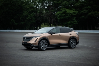 2021 Nissan Ariya Prouction Model