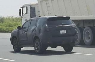 2021 Nissan Terra Spyshot