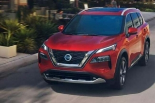 2021 Nissan X-trail leaked photo