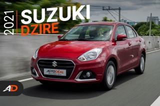 2021 Suzuki Dzire GL+ Review - Behind the Wheel