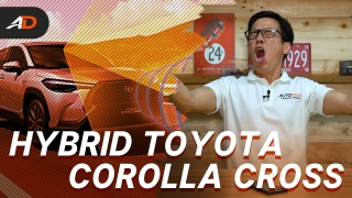 2021 Toyota Corolla Cross Launches in the Philippines - Behind a Desk